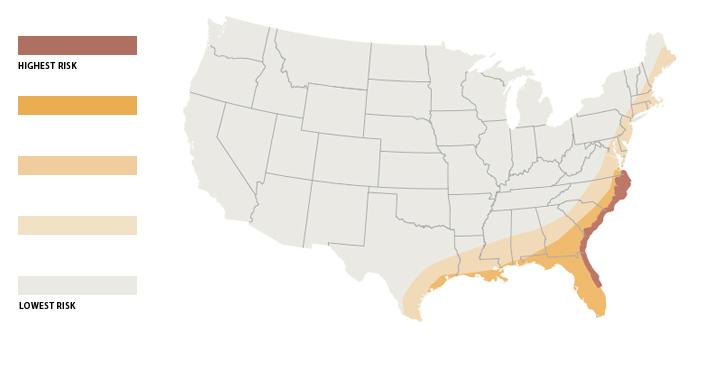 Hurrican Risk Map