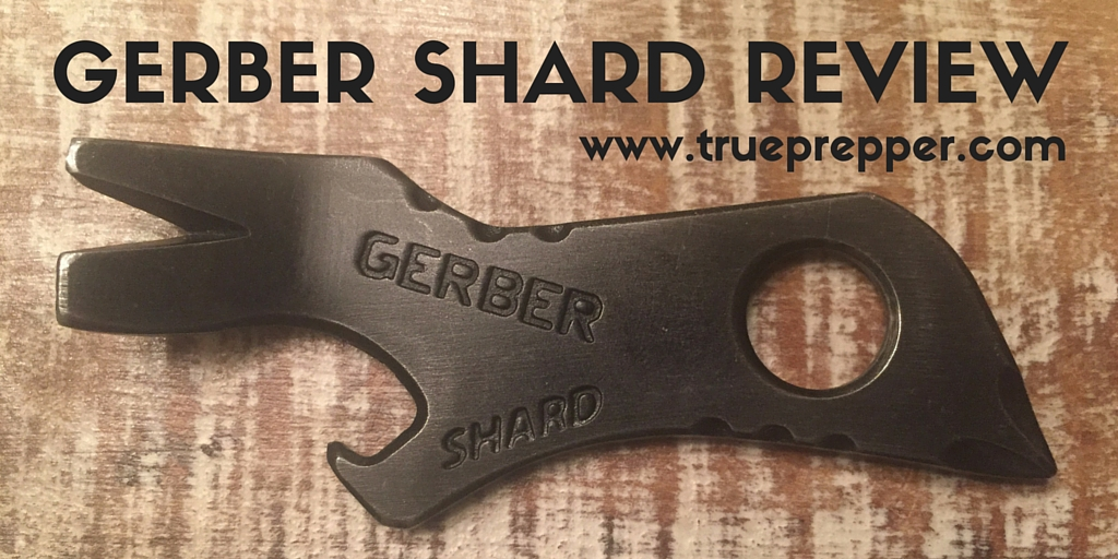 Gerber Shard Review - TruePrepper