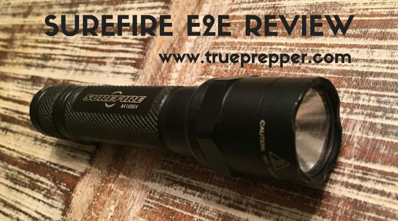Surefire Flashlight E2E Review