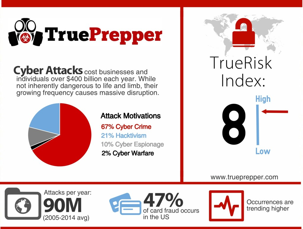 Cyber Attack Infographic