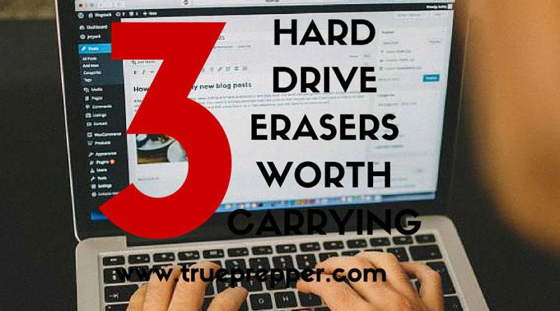 3 Free Hard Drive Eraser Worth Carrying on USB
