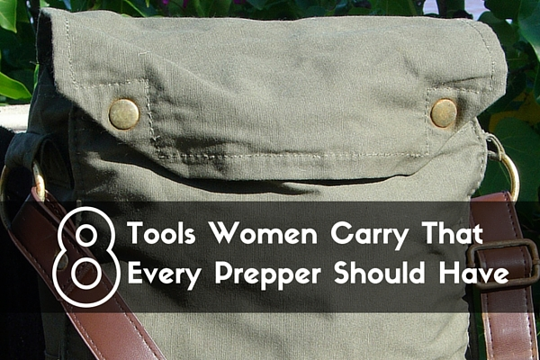 8 Tools Women Carry That Every Prepper Should Have