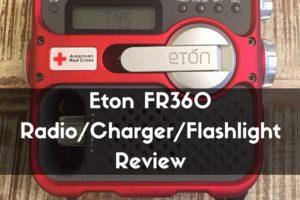 Eton FR360 Radio Charger Flashlight Review