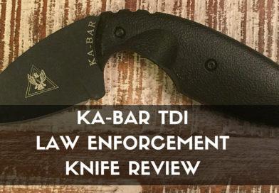 KA-BAR TDI Law Enforcement Knife Review