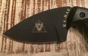 KA-BAR TDI law enforcement knife blade