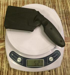 KA-BAR TDI law enforcement sheath full weight