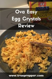 Ova Easy Egg Crystals Review