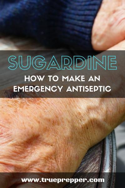 Sugardine: How to Make an Emergency Antiseptic