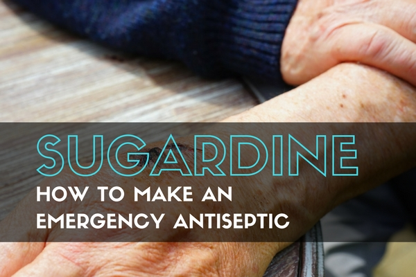 Sugardine: How to Make an Emergency Antiseptic