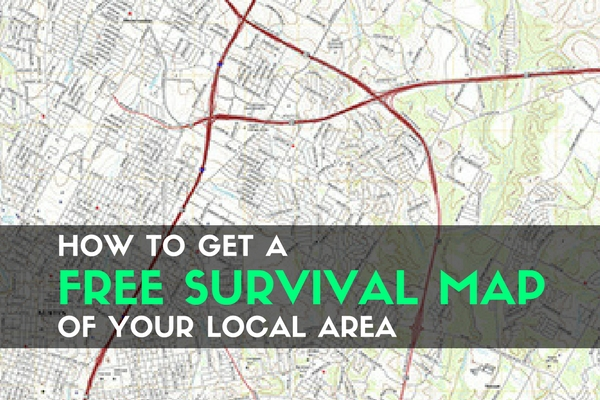How to Get a Free Survival Map of Your Local Area