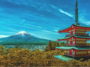Across the world in Japan
