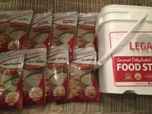 Legacy Food Storage Bucket