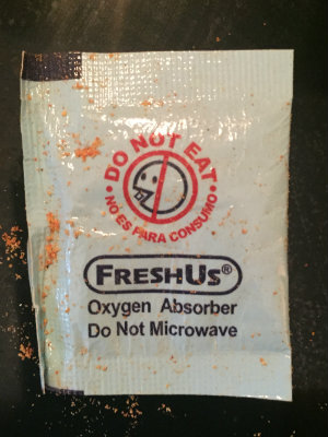Legacy Oxygen Absorber