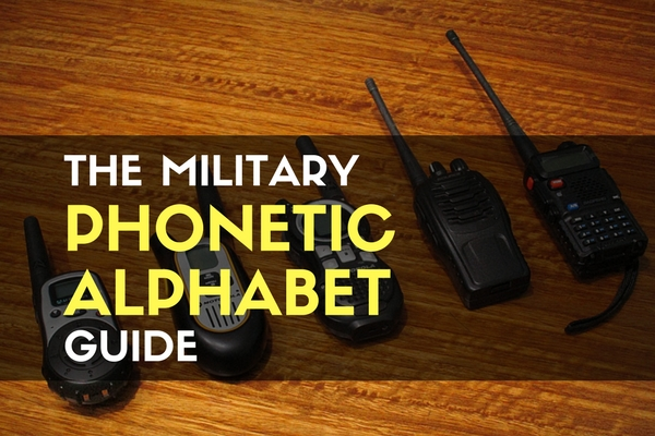 The Military Phonetic Alphabet Guide
