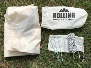 Rolling Fox Tarp