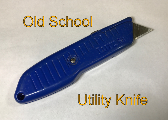 Old Utility Knife