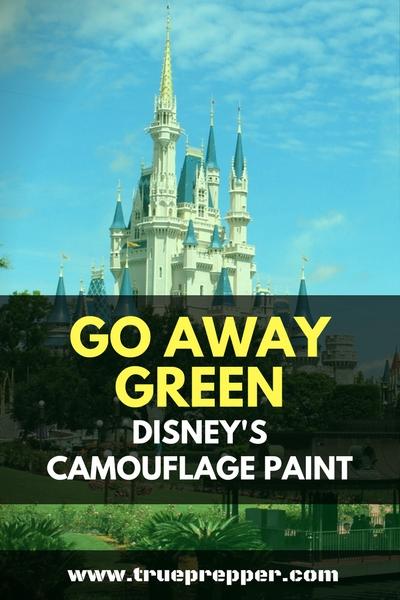 Go Away Green – Disney's Camouflage Paint