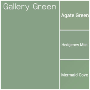 Shades of Go Away Green