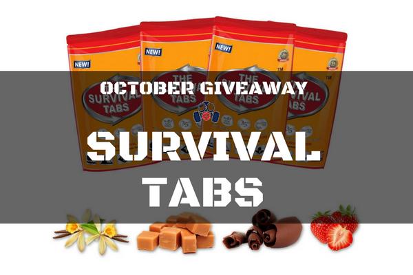 Survival Tabs Giveaway