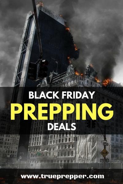 Black Friday Prepping Deals