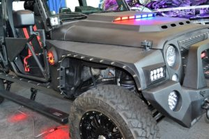 Custom Survival Jeep