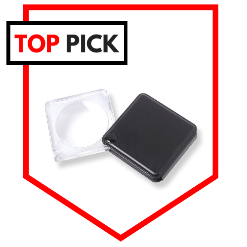Carson MagniFlip 3X Pocket Magnifier