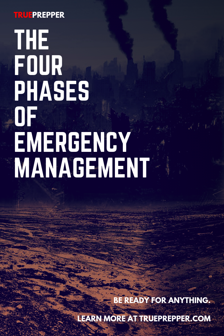 The Four Phases of Emergency Management Social