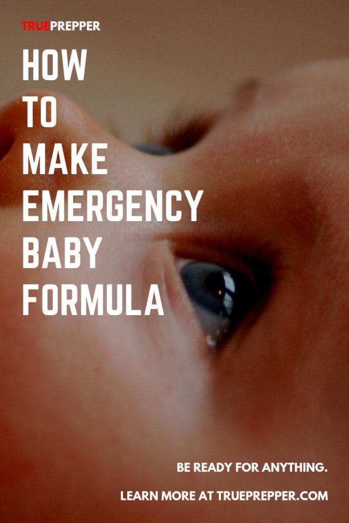 How to Make Emergency Baby Formula