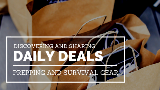 Daily Deals on Prepping Gear