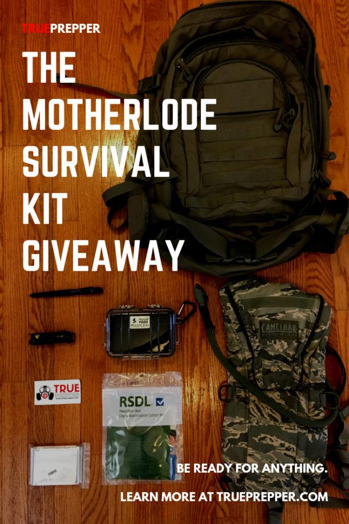 Motherlode Survival Kit Giveaway