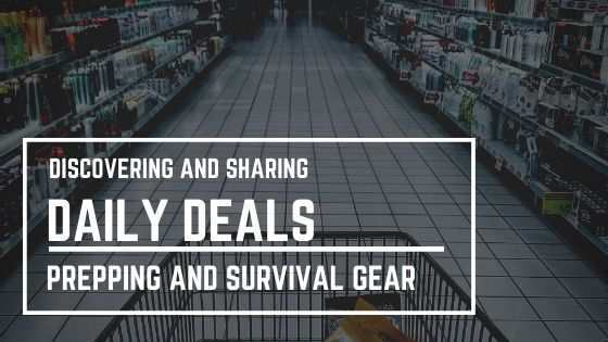 Daily Prepper Deals and Coupons