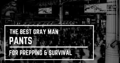 The Best Gray Man Pants for Prepping and Survival