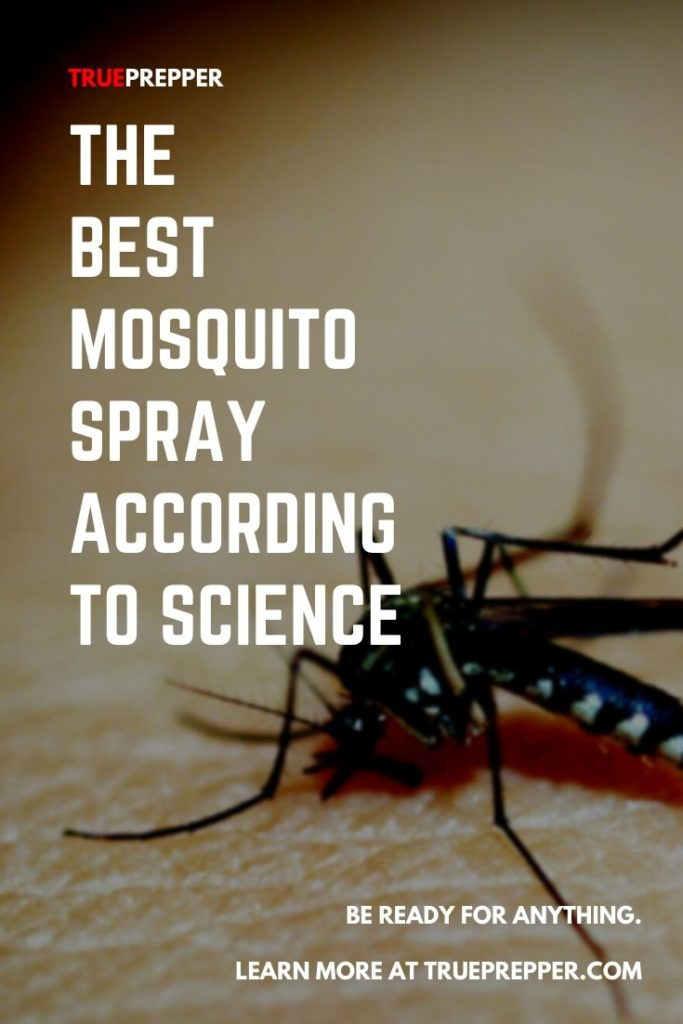 The Best Mosquito Spray According to Science