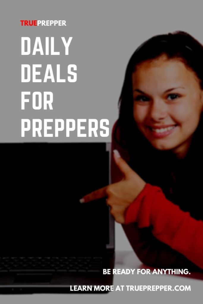 Daily Deals for Preppers