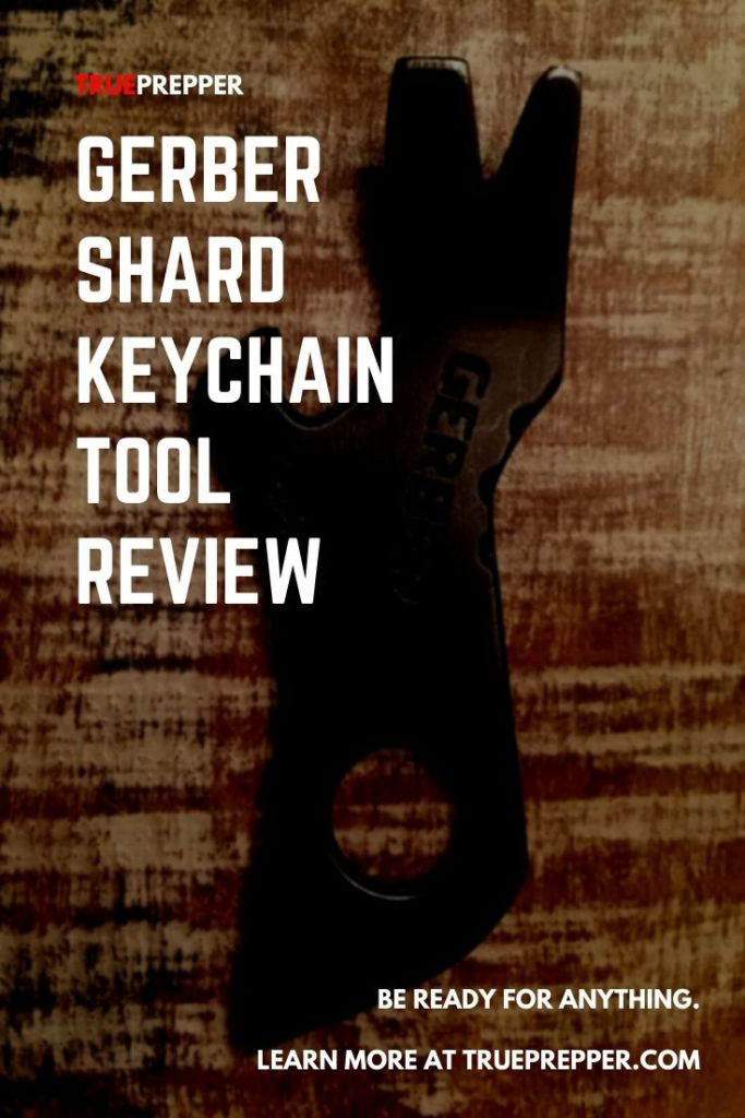 Gerber Shard Keychain Tool Review