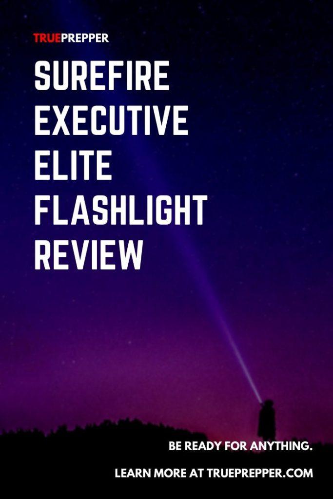 Surefire Executive Elite Flashlight