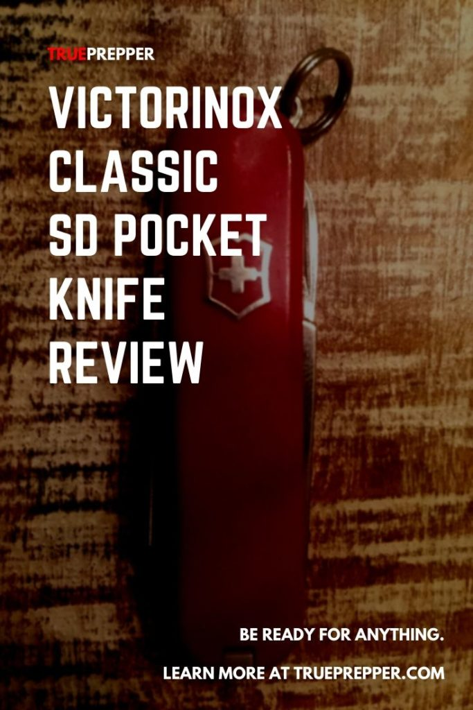 Victorinox Classic SD Pocket Knife Review