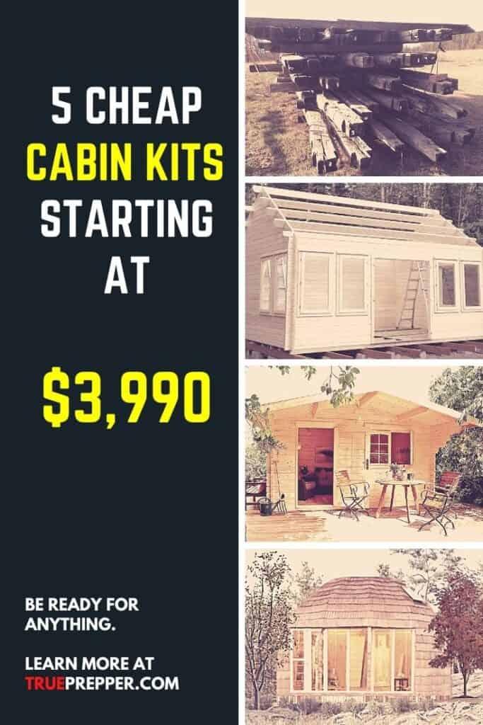 5 Cheap Cabin Kits Starting at $3990