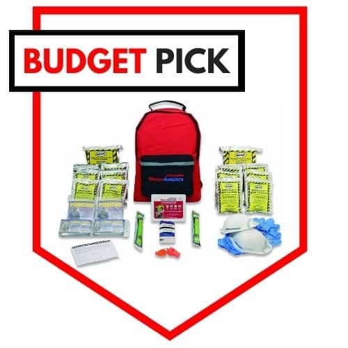 Ready America Emergency Kit Premade Bug Out Bag