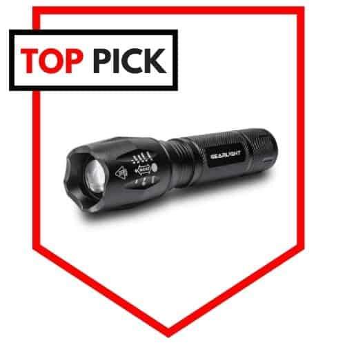 GearLight LED S1000 Flashlight