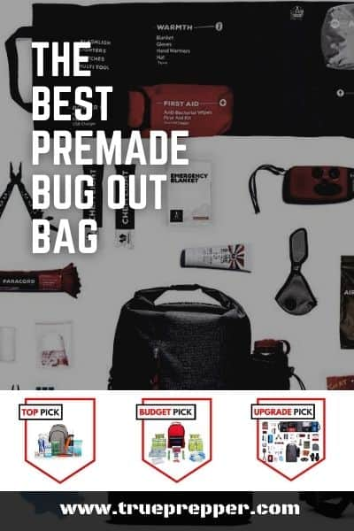 The Best Premade Bug Out Bag