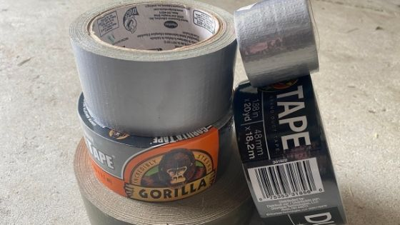 Duct tapes for review and testing.